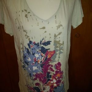 Eddie Bauer Tunic Length Tee Shirt